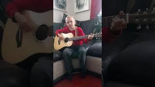 Shaney-Lee practising...