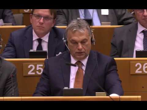 """EP debate on """"situation in Hungary"""" (English/FULL)"""