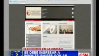 C5N - ELECCIONES EN LA CIUDAD - DONDE VOTAR