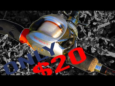 CHEAP Fishing Gear! |$20 Fishing Reels