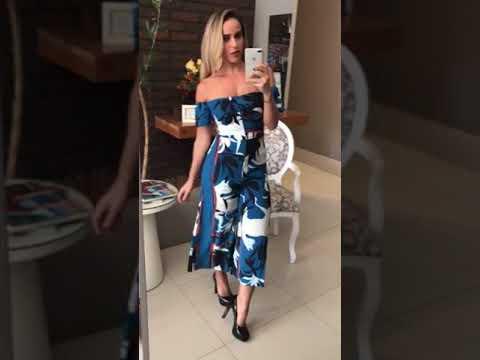 3a49e75a4 Macacão Morena Rosa Pantacourt Ombro a Ombro - YouTube