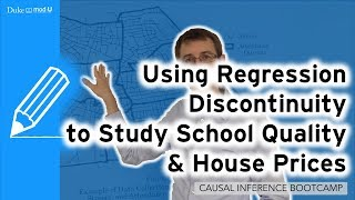 Using RDD to Study Schools and House Prices: Causal Inference Bootcamp