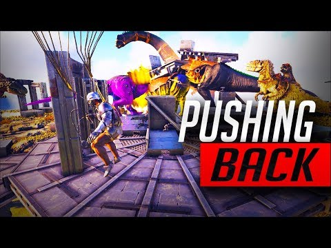 PUSHING THE ENEMY BACK | SERVER INVASION DEFENSE | OFFICIAL ARK | Ep 54