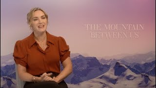 Kate winslet talks the mountain between us, her big family, kids and husband