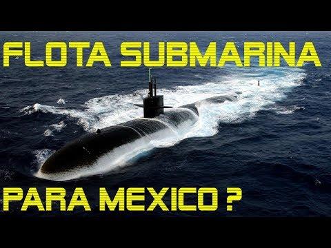 Una Flota SUBMARINA para México?