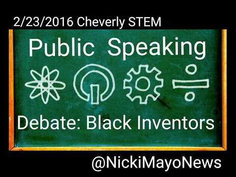 02/23/2016 : Debates Part 2 (BHM Inventors)