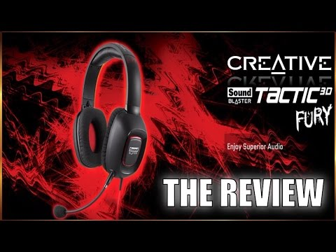 Creative Labs Tactical 3D FURY Headset Review