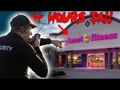 24 HOUR OVERNIGHT CHALLENGE IN A GYM SNEAKING INTO PLANET FITNESS! | MOE SARGI