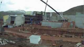 Utah Museum of Natural History UMNH Construction Timelapse (Long version)