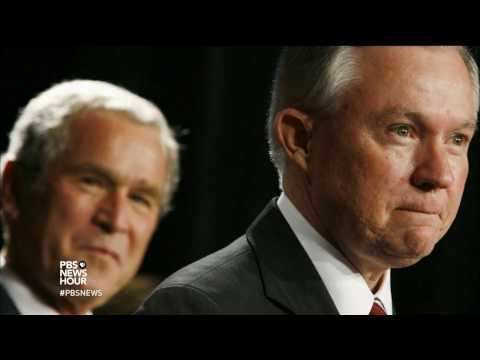 Sessions known for tough stance on immigration -- and failed judgeship