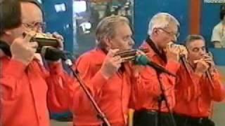 Rhythmik-Harmonika - Quartett Hildsheim playing Tweedle Dee
