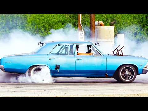 Roadkill | Top 10 Burnouts and Donuts