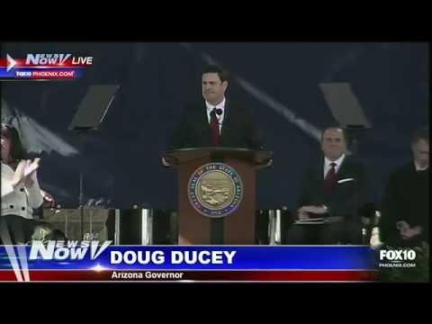Inauguration of Doug Ducey as Arizona Governor