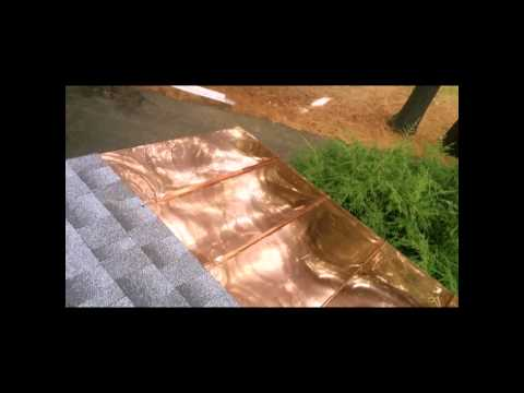 Copper roof installation and more jobs 10/13/2014. By franklincustomcopperworks llc