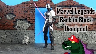 Marvel Legends GameStop Exclusive Back in Black Deadpool Review