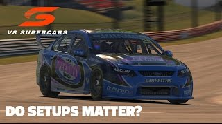 iRacing: Do Setups Matter? (V8 Supercar @ Bathurst)