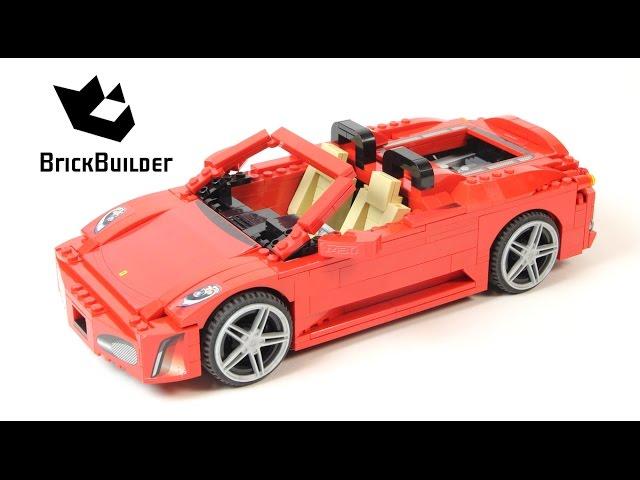 Lego Racers 8671 Ferrari 430 Spider Lego Speed Build Youtube