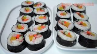 紫菜卷  김밥
