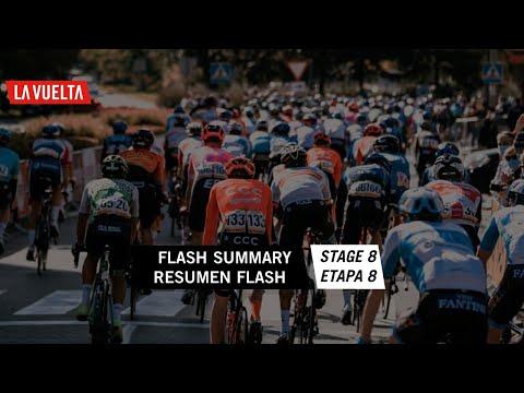Resumen Flash / Flash Summary - Etapa 8 | La Vuelta 20