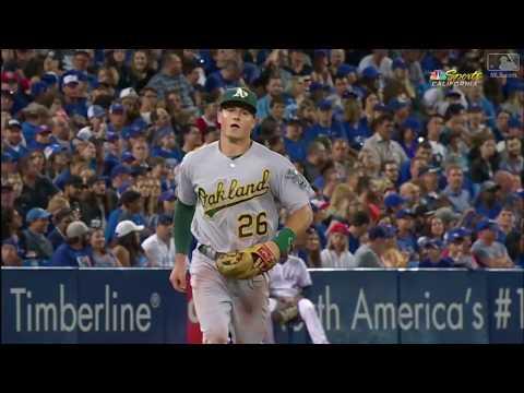 Matt Chapman Defensive Highlights 2017 HD