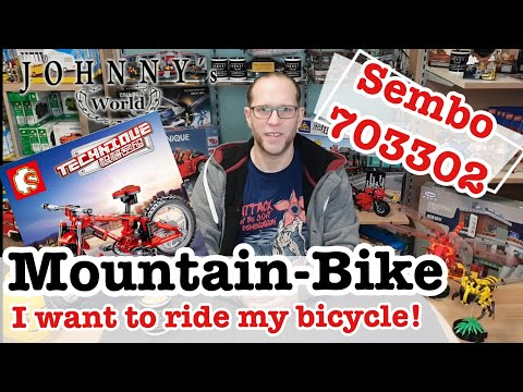 Sembo 703302 Mountainbike / Bicycle Unboxing, Aufbau + FAZIT