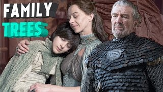 Why There isn't a House Arryn & Tully Family Tree (Game of Thrones)