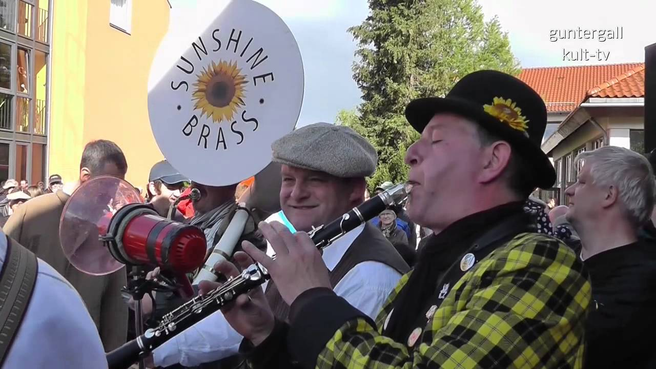 44. Internationales Dixieland Festival Dresden: Sunshine Brass (D)