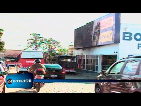 Polícia investiga causas de incêndio contra um ônibus da expresso ITAMARATI, em Mirassol