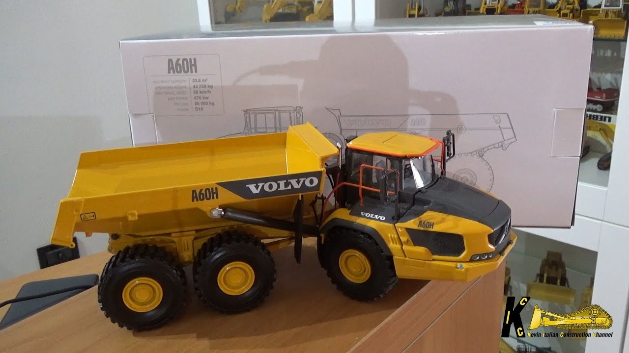 volvo a60h dumper 1 50 wsi model review youtube. Black Bedroom Furniture Sets. Home Design Ideas
