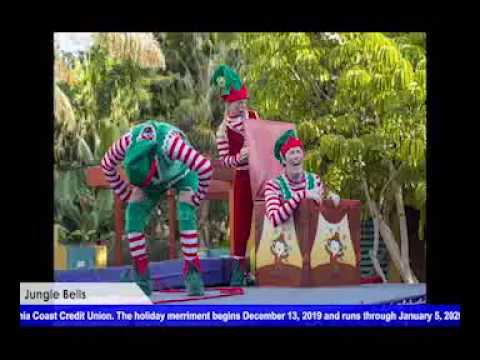 Happy Holidays Happen At Jungle Bells