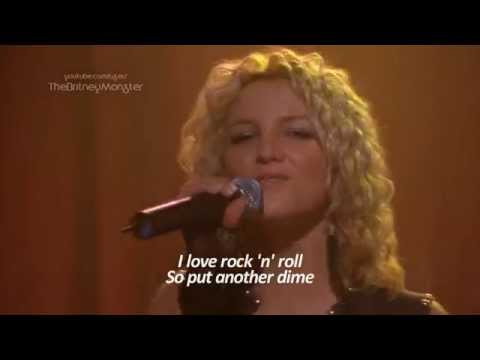 Britney Spears I Love Rock 'N' Roll Crossroads HD Lyrics
