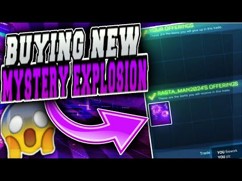 BUYING THE NEW FIREWORKS EXPLOSION IN ROCKET LEAGUE!!