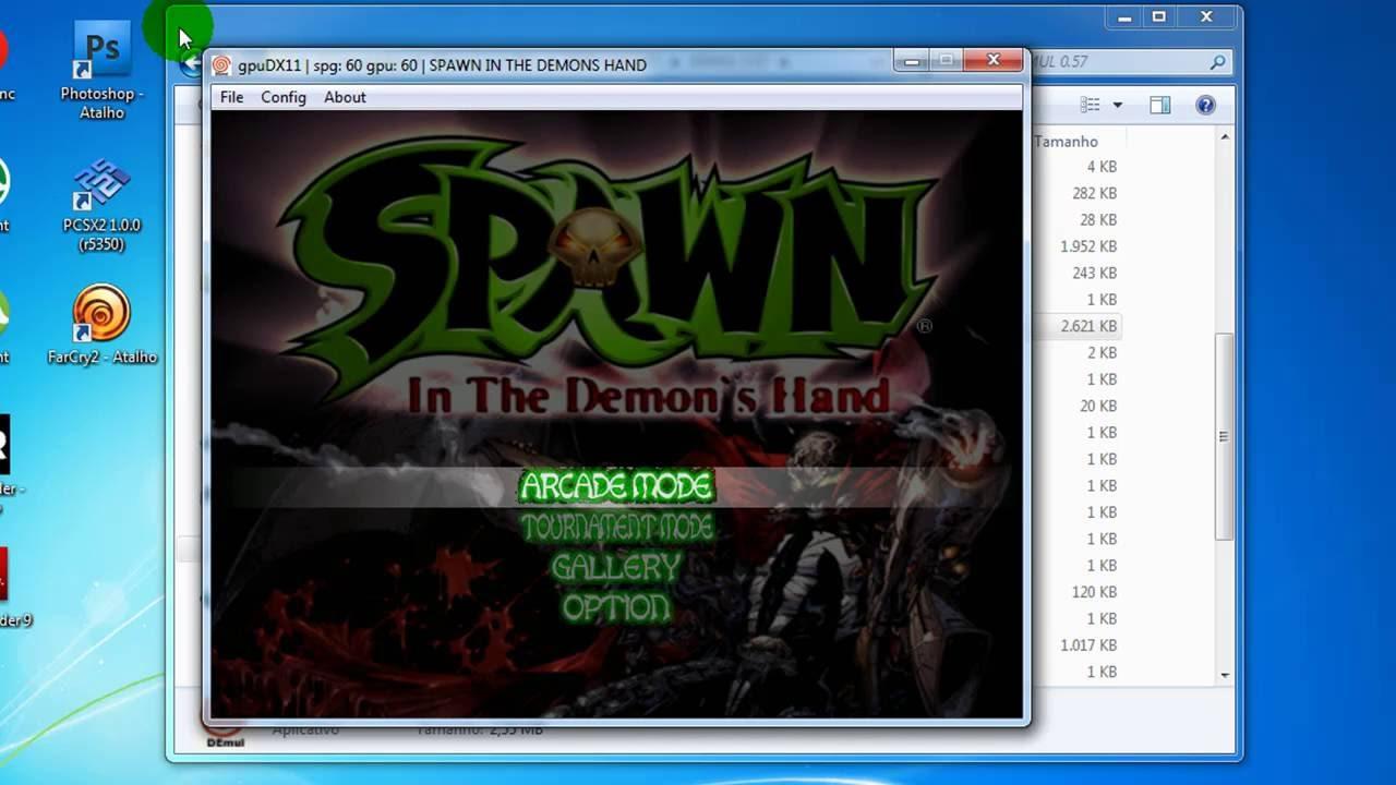 Emulador Demul 057 lento Spawn in the Demon`s Hand