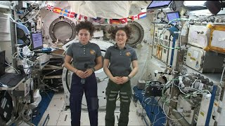 All-female spacewalk duo set sights on Moon | AFP