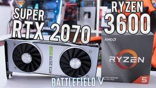 Teste BF5 Multiplayer - Ryzen 5 3600 / RTX 2070 Super / 16GB RAM - Full HD, 2.5K e 4K (Ultra vs Low)