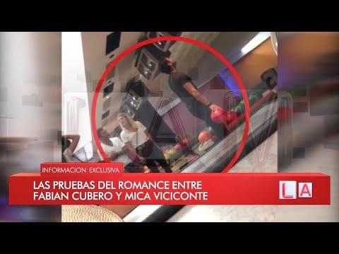 Las imágenes que confirman el romance de Viciconte y Cubero