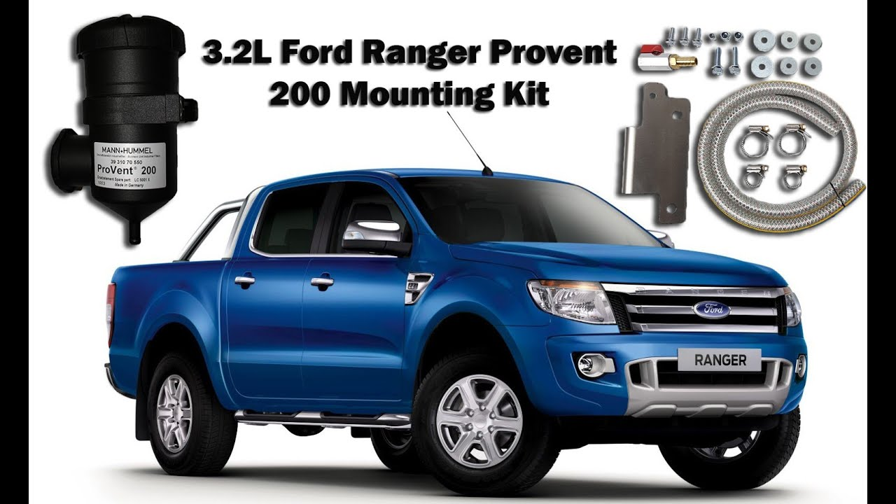 Provent 200 Ford Ranger Mounting Kit Installation - PMK621