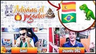 ADIVINA EL JUGADOR CON EMOJIS CHALLENGE ft. JuanluDBZ