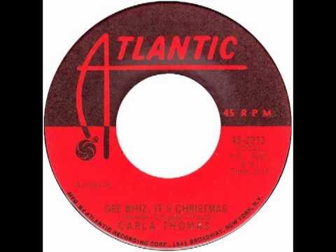 carla thomas gee whiz its christmas atlantic 1963