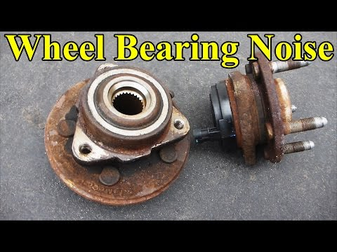 How to Check a Wheel Bearing (Sound, play in the wheel, ABS light)