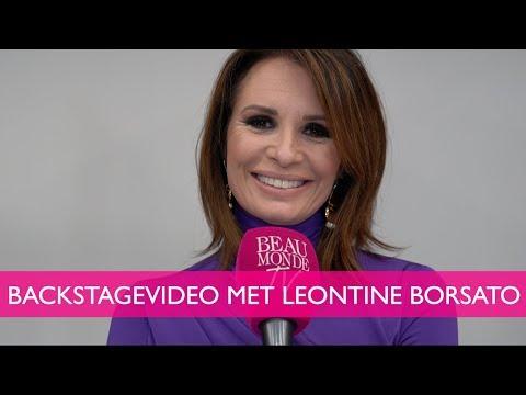 BACKSTAGEVIDEO met Leontine Borsato
