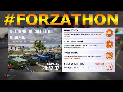 FORZA HORIZON 3 #FORZATHON COMO GANHAR O PORSCHE 944 TURBO E O BENTLEY CONTINENTAL SUPERSPORT