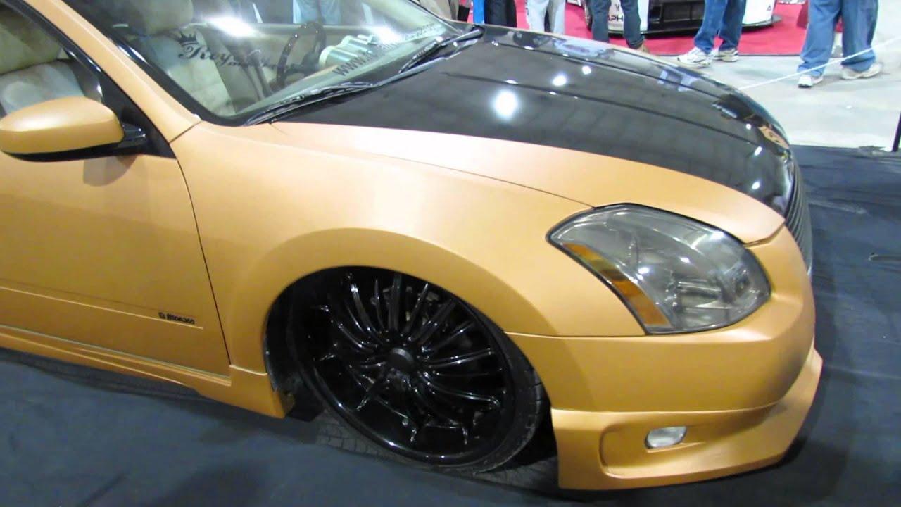 2004 nissan maxima custom at 2014 megaspeed car show youtube vanachro Images