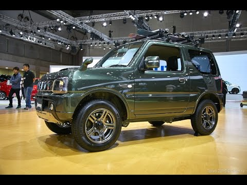 2016 suzuki jimny at thetokyo motor show 2015 youtube. Black Bedroom Furniture Sets. Home Design Ideas