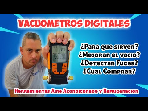 Digital Vacuum Gauge - Features - Air Conditioning and Refrigeration