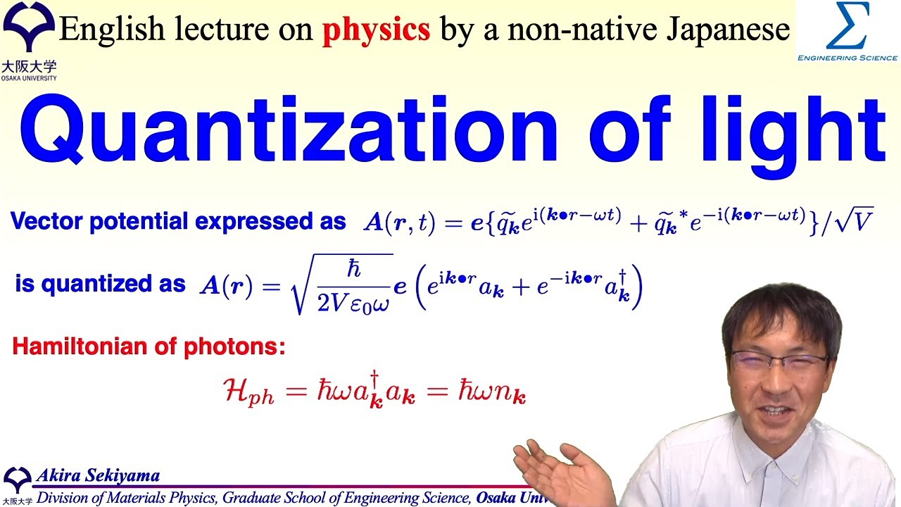 Quantization of light