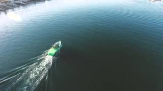 Shot from a DJI Phantom 4 drone: Boats of newport