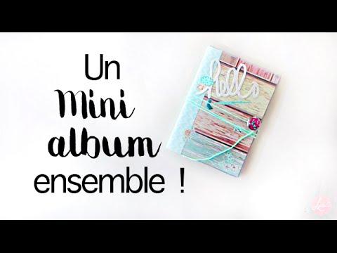TUTO  Crer un mini album enveloppe avec vous de A  Z  YouTube