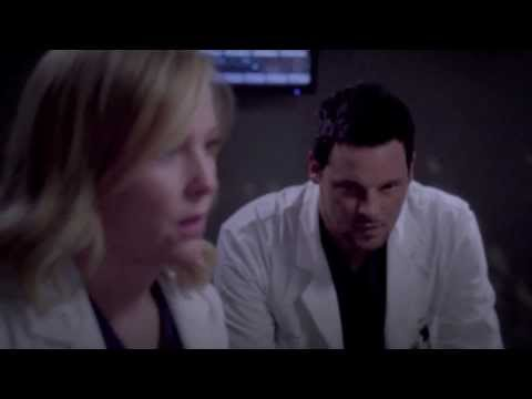 Father comes in with his injured son. Arizona and Alex come to the rescue.