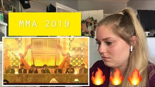 Reaction to BTS MMA 2019!